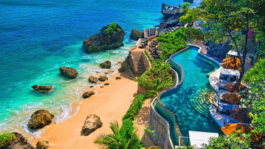 Villa avec acces mer a Bali