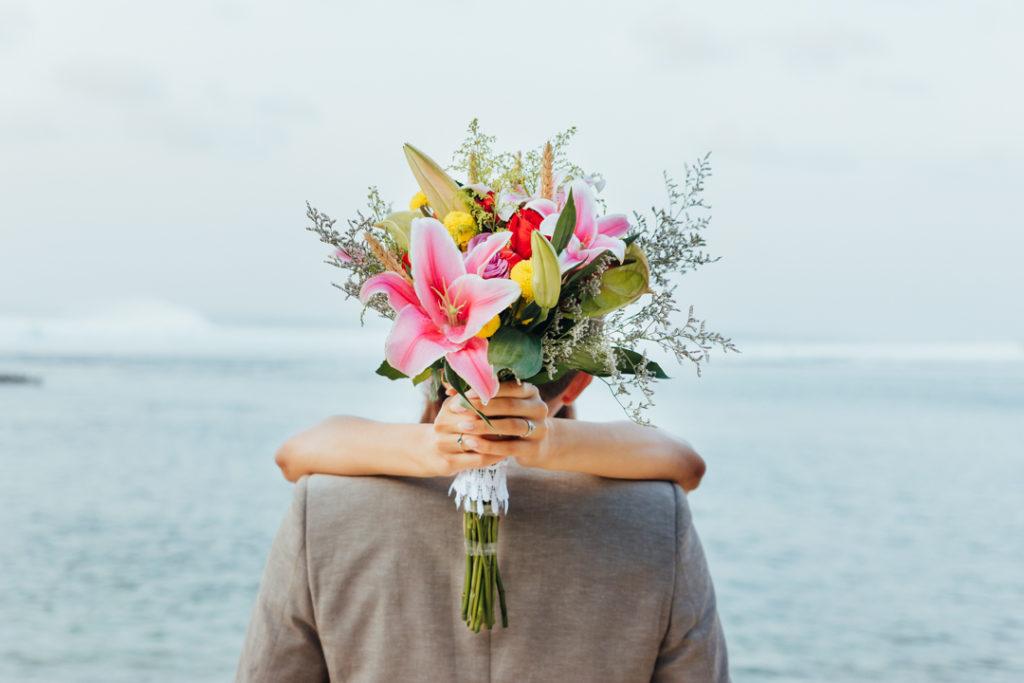 Bouquet de mariee Bali