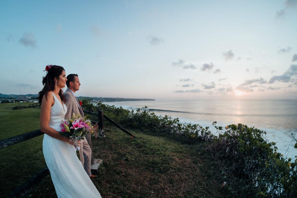 Photoshoot coucher de soleil plage a Bali